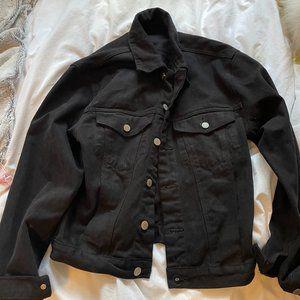 Brandy Melville Black Jean Jacket